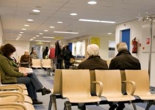 healthcare, Leveste,hospital Scheper Ziekenhuis Emmen,Holland, waitingroom