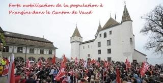 SCHWEIZ PHARMA NOVARTIS PROTEST