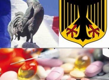 Marché pharmaceutique : la France décroche, l'Allemagne se maintient