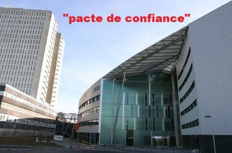 Un «pacte de confiance à l'hôpital» : la paix sociale n'a pas de prix !