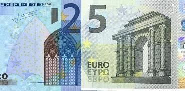 25-eurose