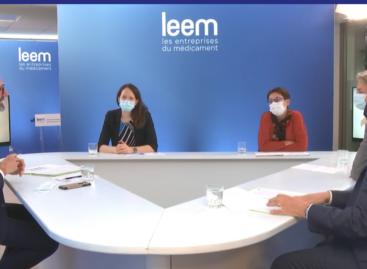 Le président du Leem plaide en faveur d'une «industrie engagée»