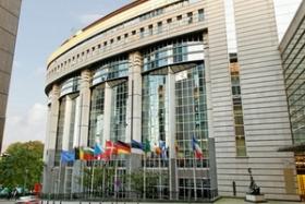 Place of the EU Parliament.